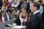 Студенты МГУ пожаловались ректору на визит Медведева на журфак